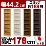 日本製 大洋 エースラック 本棚  (幅44.2×奥行31×高さ178cm)