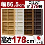 日本製 大洋 エースラック 本棚  (幅86.5×奥行31×高さ178cm)